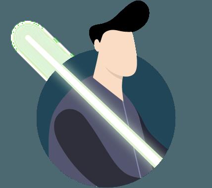 به یک Jedi (سریال جنگ ستارگان) در نرخ کلید مبدل شوید